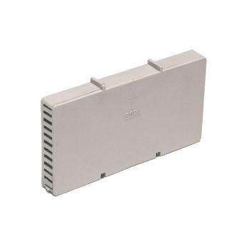 Вентиляционная коробочка NOVA светло-серая