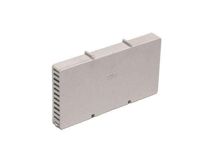 Вентиляционная коробочка HABE светло-серая