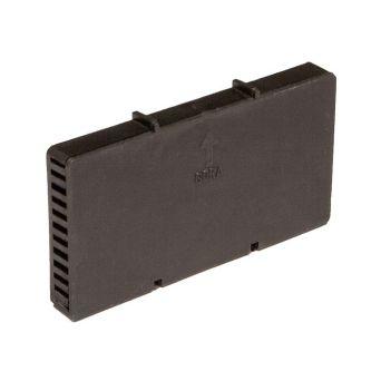 Вентиляционная коробочка NOVA графитовая