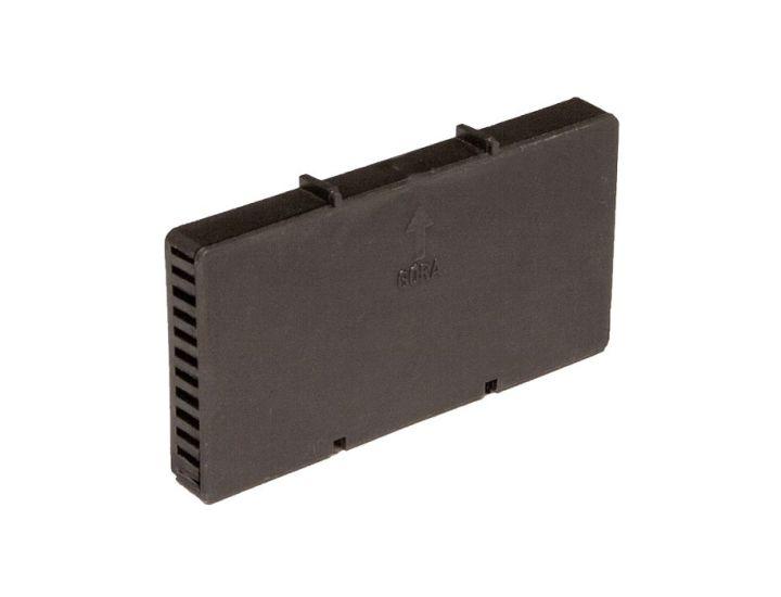 Вентиляционная коробочка HABE графитовая