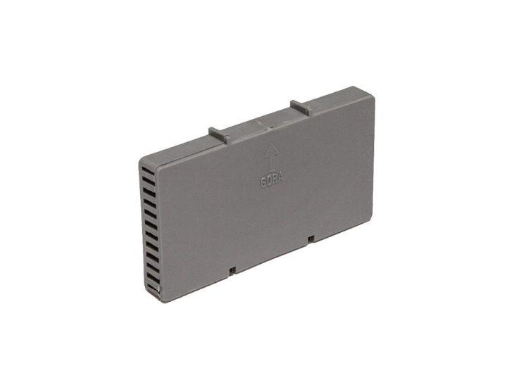 Вентиляционная коробочка HABE темно-серая