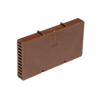 Вентиляционная коробочка NOVA коричневая