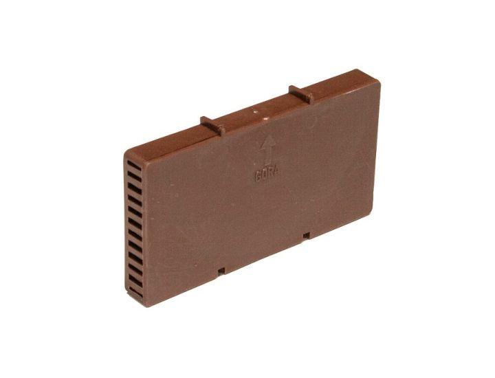 Вентиляционная коробочка HABE коричневая