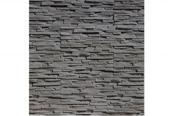 Декоративный камень Bergamo graphite