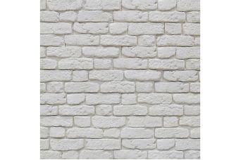 Декоративный кирпич со швом City Brick off-white