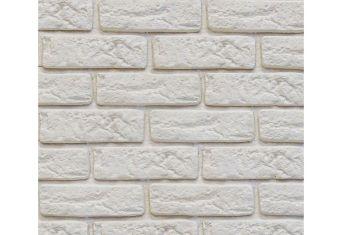 Декоративный кирпич со швом Decor Brick off-white