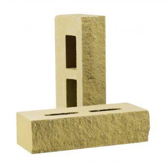Гиперпрессованный кирпич Рубелэко фактурный пустотелый песчаник КСПФ-М2