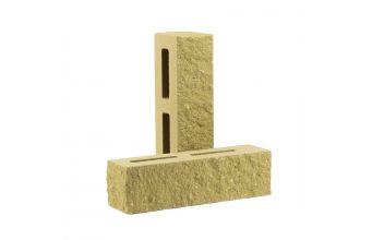Кирпич узкий пустотелый тычковый песчаник КУПТ2