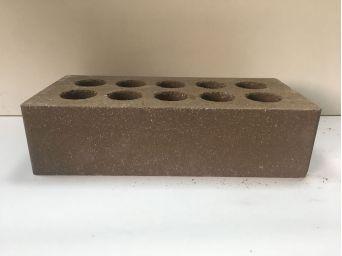 Кирпич Литос стандартный «Гладкий» пустотелый шоколад