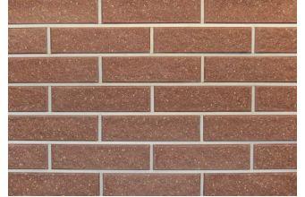 Фасадная плитка Литос колотая с фаской бордо