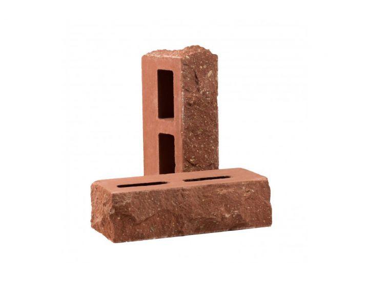 Лицевой кирпич скала Рубелэко Дикий камень пустотелый тычковой клинкер КСПБ4