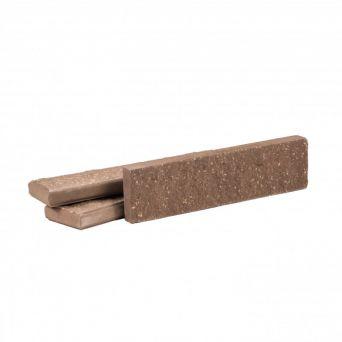 Фасадная плитка Рубелэко фактурная шоколад