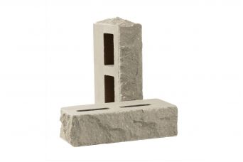 Лицевой кирпич Рубелэко Дикий камень пустотелый тычковой сталь КСПБ1