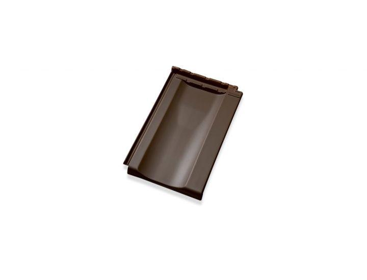 Керамическая черепица Jacobi Z10 темно-коричневый