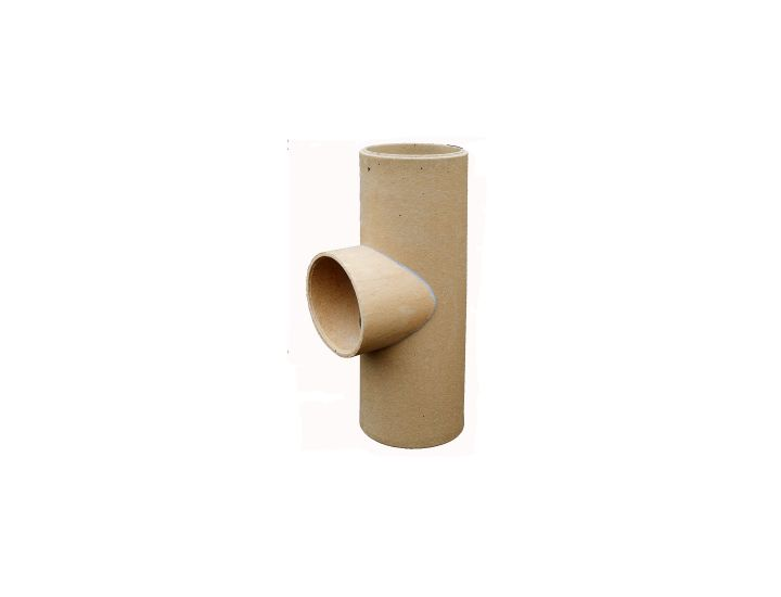 Соединительная керамическая труба для дымоходов HART (тройник)90˚, d200