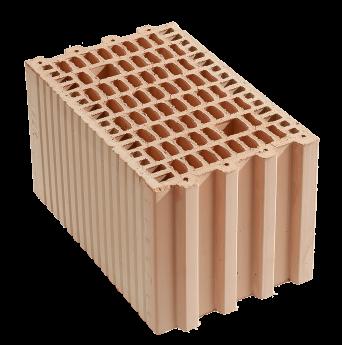 Керамический блок поризованный Кератерм 25 Кузьминецкий