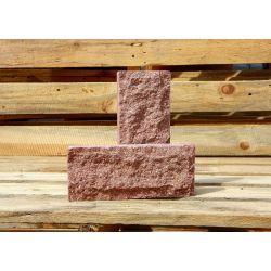 Цокольная плитка скала Євроцегла красная