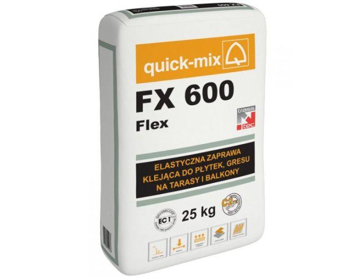 Клей для плитки эластичный quick-mix FX 600 Flex
