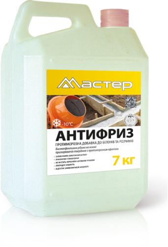 Противоморозная добавка для бетона и растворов Мастер «Антифриз»