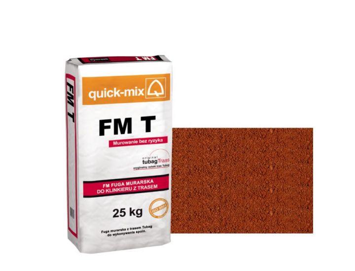 Шовный раствор quick-mix FM T кирпичный
