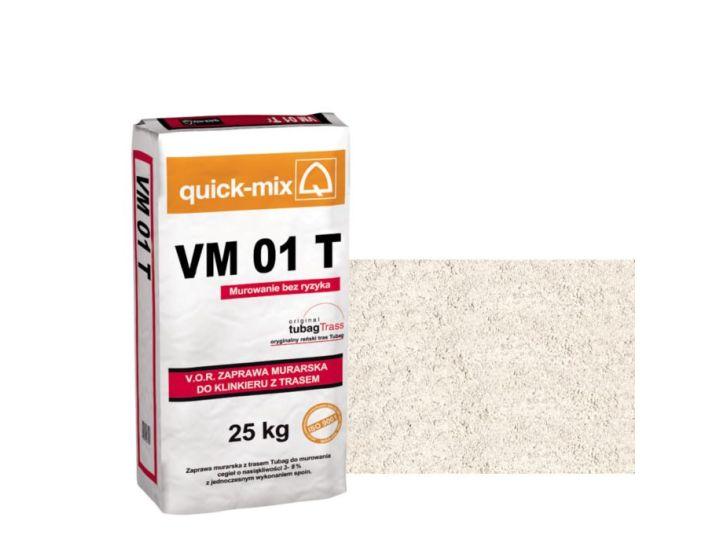Кладочная смесь quick-mix VM 01 T алебастрово-белый