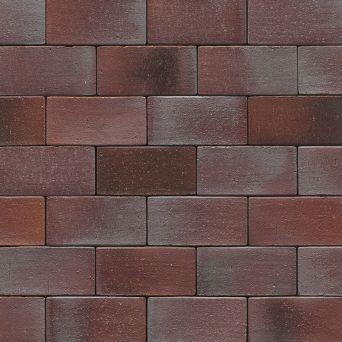 Клинкерная брусчатка Muhr Nr. 10 Violettbraun geflammt