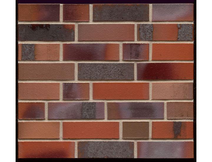 Клинкерный кирпич K 560 Carbona ardor colori