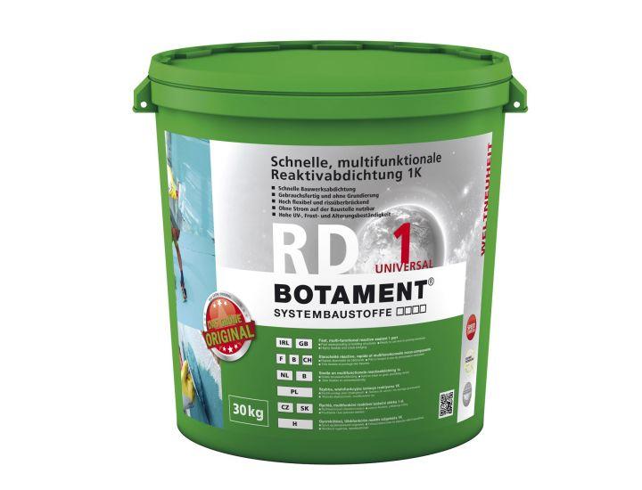 Быстрая однокомпонентная гидроизоляция Botament RD 1 Universal (10 кг)