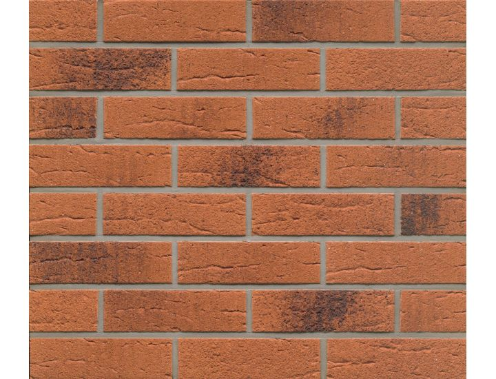 Клинкерная плитка Feldhaus Klinker R228 terracotta rustico carbo