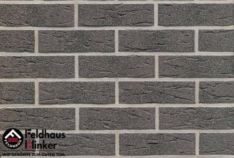 Клинкерная плитка Feldhaus Klinker R735 anthracit mana