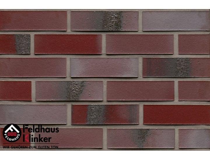 Клинкерная плитка Feldhaus Klinker R563 carbona ardor rutila