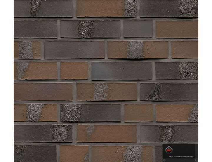 Клинкерная плитка Feldhaus Klinker R564 carbon geo maritim
