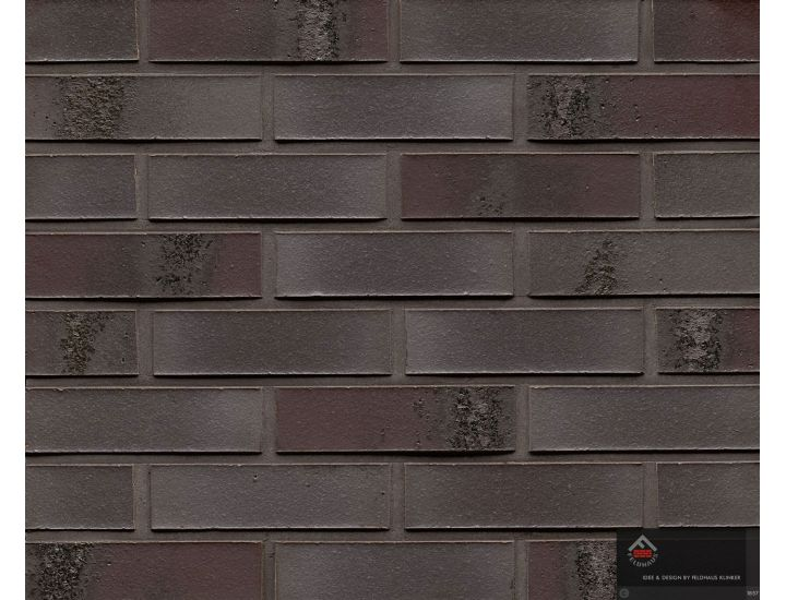 Клинкерная плитка Feldhaus Klinker R565 carbon geo ferrum