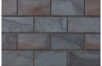 Клинкерная плитка тротуарная Stroeher Spaltklinker Metallic Schwarz 336
