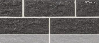 Плитка цокольная Stroeher KS 05 antrazit