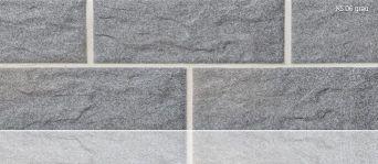 Плитка клинкерная цокольная Stroeher KS 06 grau