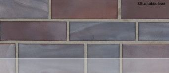 Клинкерная плитка Stroeher 325 achatblau-bunt
