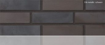 Клинкерная плитка Stroeher 336 metallic schwarz
