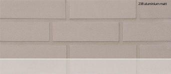 Клинкерная плитка Stroeher 238 aluminium matt