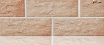 Плитка цокольная Stroeher KS 03 rose