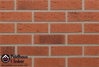 Клинкерная плитка Feldhaus Klinker R488 ferreno rustico carbo