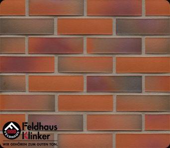 Клинкерная плитка Feldhaus Klinker R489 galena terreno rosato