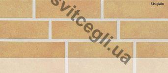 Клинкерная плитка глазурованная Stroher 834 giallo