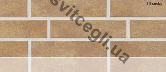Клинкерная плитка глазурованная Stroher 835 sandos