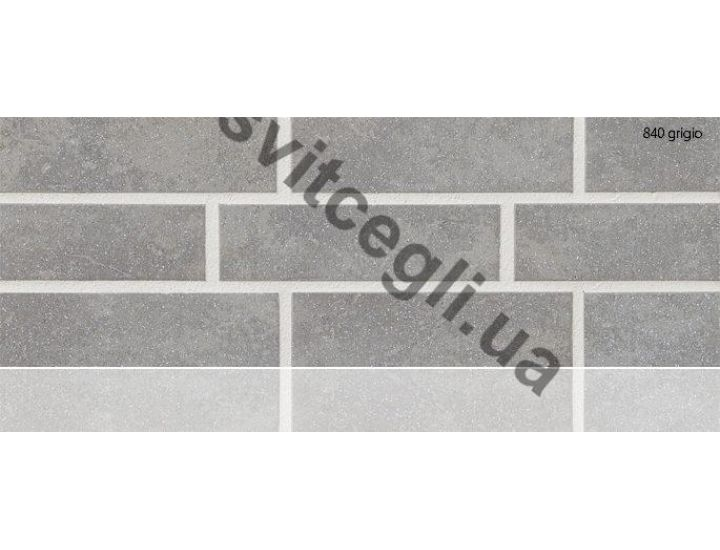 Клинкерная плитка глазурованная Stroher 840 grigio