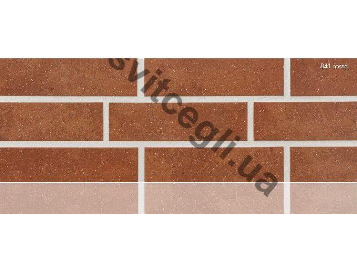 Клинкерная плитка глазурованная Stroher 841 rosso