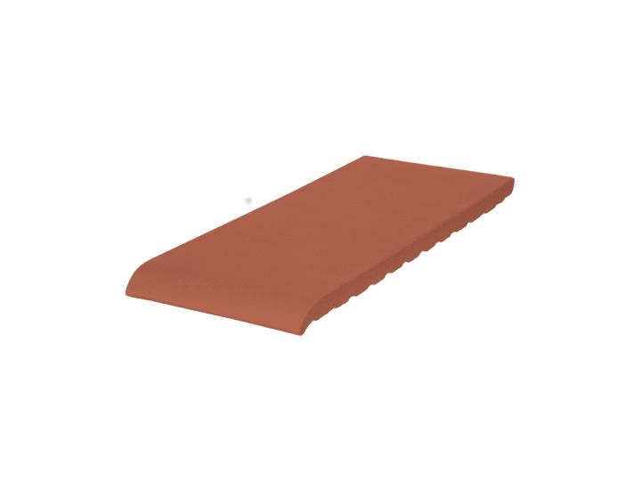 Подоконник клинкерный King Klinker (01) Красный (24,5 см)