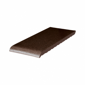 Подоконник клинкерный King Klinker (02) Коричневый глазурированный (15-35 см)