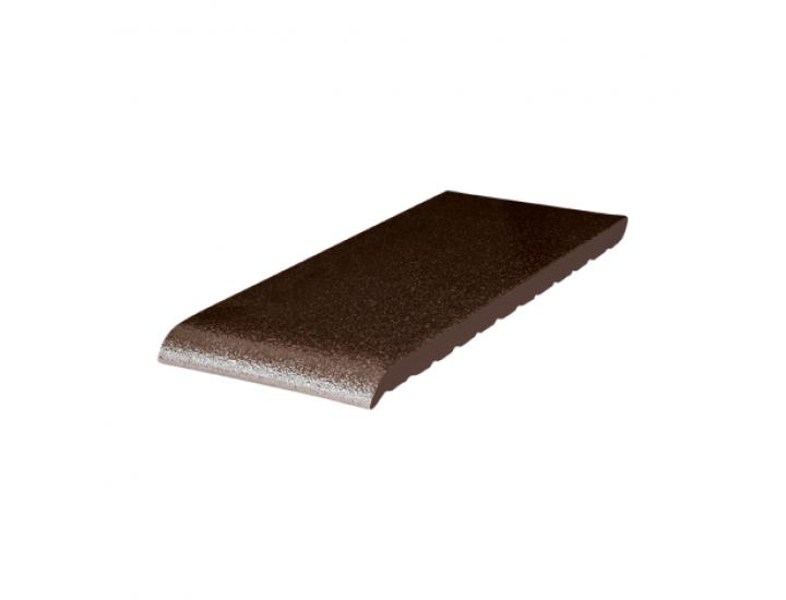 Подоконник клинкерный King Klinker (02) Коричневый глазурированный (35 см)