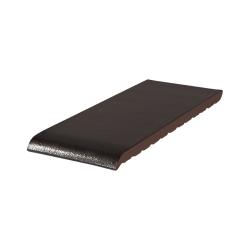 Подоконник клинкерный King Klinker (17) Ониксовый черный (15-35 см)